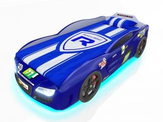 Кровать-машинка Romak Renner 2 синяя