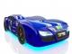 Кровать-машинка Romak Renner 2 синяя купить