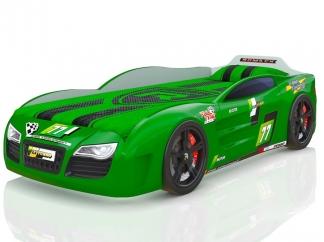 Кровать-машинка Renner 2 зеленая