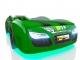 Кровать-машинка Romak Renner 2 зеленая купить