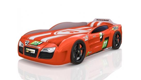 Кровать-машинка Romak Renner 2 оранж купить