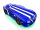 Кровать-машинка SportLine синяя