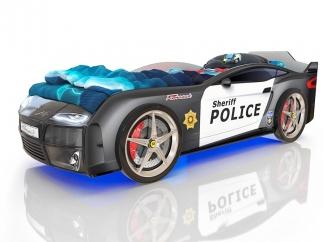 Кровать-машинка Romak Kiddy Полиция