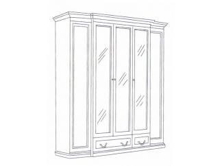 Шкаф 5-ти дверный Леди