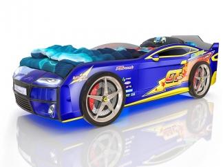 Кровать Romak Kiddy Молния синяя