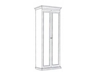 Шкаф 2-х дверный Леди (модульная)