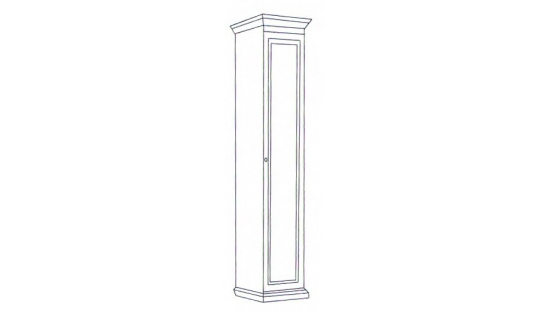 Шкаф 1-но дверный Лилия-модуль купить