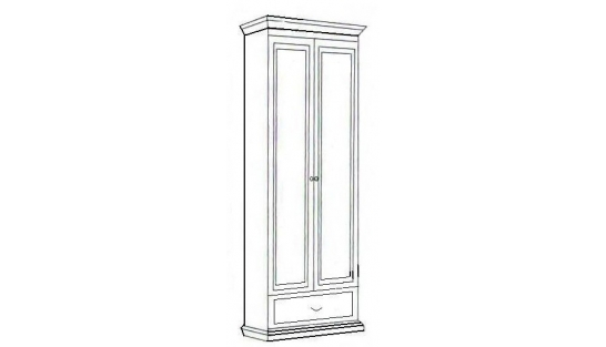 Шкаф 2-х дверный Лилия-модуль