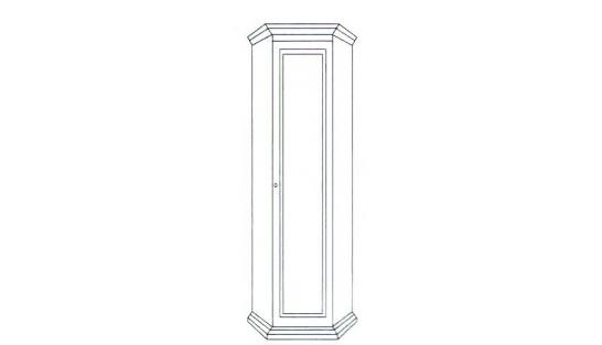 Шкаф угловой Лилия-модуль