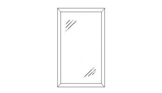Зеркало Лилия-модуль