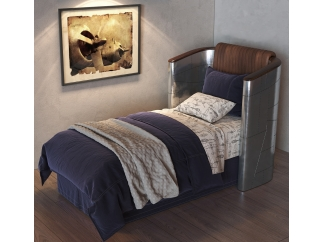 Кровать Aviator High Back Bed