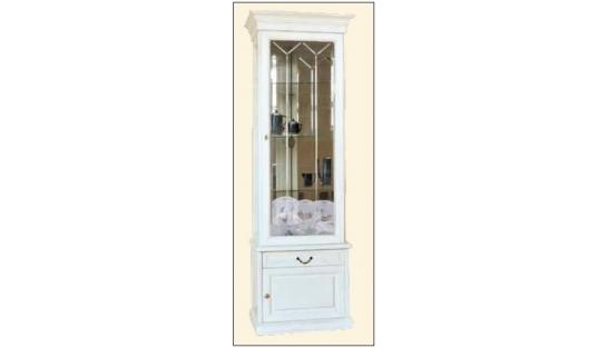 Шкаф с витриной 1-но дверный СОЛОМОН купить
