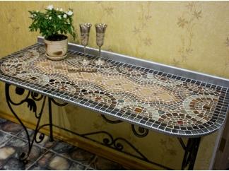 Столик с мозаикой Консоль 2_50*110см