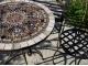 Стол с мозаикой Венский кофе_26 D70см купить