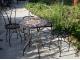 Мозаичный столик Венский кофе_29 d50 купить