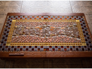 Стол из мозаики Куимбра МР123 72*123