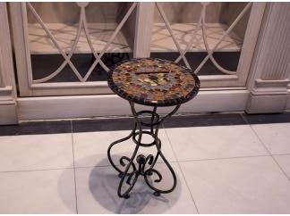 Стол с мозаичной столешницей Эрика_44 D40