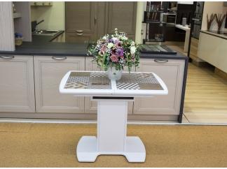 Стол кухонный с плиткой Фатеж 2 97*70, цвет Белый Микс