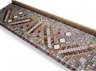Столик декорированный мозаикой Ремих_15 154*45см