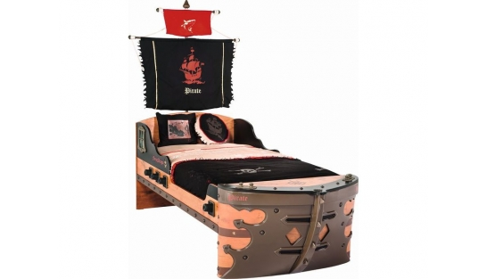 Pirate Кровать-корабль, сп. м. 90х190 купить