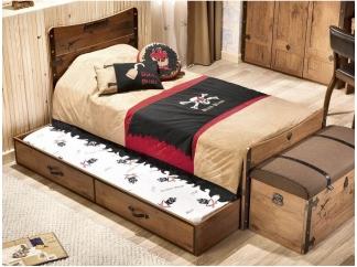 Pirate Кровать выдвижная, сп. м. 90х180