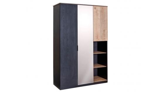 Black Шкаф трехдверный купить
