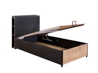 Black Кровать с подъемным механизмом, сп. м. 100х200