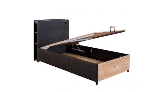 Black Кровать с подъемным механизмом, сп. м. 100х200 купить