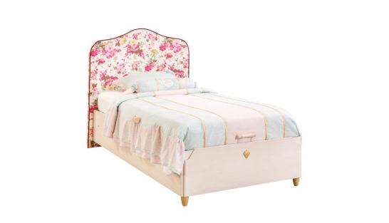 Flora Кровать с подъемным механизмом, с обивкой изголовья, сп. м. 100х200 купить