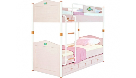 Flora Кровать двухъярусная, сп. м. 90х200 купить