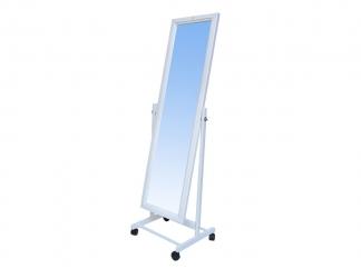 Зеркало напольное БЭЛЬ белое купить
