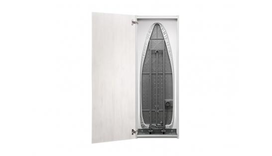 Гладильная доска зеркало Айрон Слим Эко беленый дуб/венге распашная купить