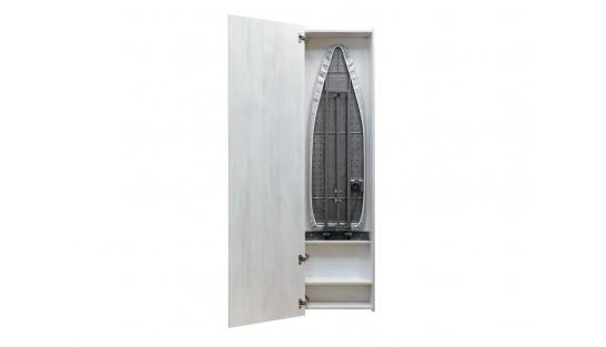 Гладильная доска зеркало Айрон Бокс Эко беленый дуб/венге распашное купить
