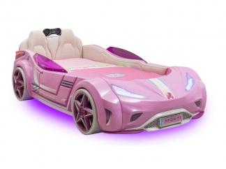 Champion racer Кровать-машина GTi, розовая, сп. м. 90х195