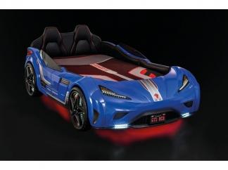 Champion racer Кровать-машина GTS, синяя, сп. м. 100х190