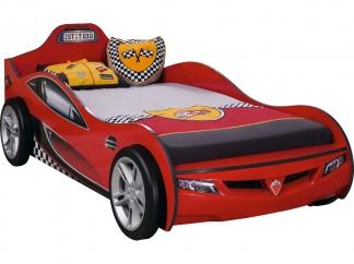 Champion racer Кровать-машина Coupe, красная, сп. м. 90х190 купить