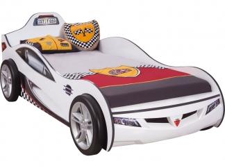 Champion racer Кровать-машина Coupe, белая, сп. м. 90х190