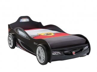 Champion racer Кровать-машина Coupe, черная, сп. м. 90х190