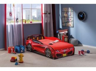 Champion racer Кровать-машина Spyder, красная, сп. м. 70х130