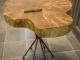 Журнальный стол из слэба Хайфа 2 (Карагач)