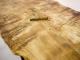 Стол Тира 3 из слэба дерева (тополь) купить