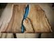 Стол Холон 8 из слэба карагача с рекой из эпоксидной смолы купить