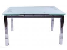 """Кухонный стол """"В179-34-2 (110(170)/74)"""" черный"""