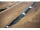 Стол Холон 9 из слэба карагача с рекой из эпоксидной смолы