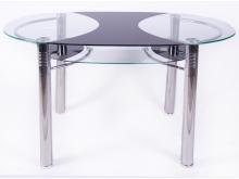 """Кухонный стол """"B180-2 (120/70)"""" черный"""