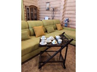 Сервировочный столик на колесиках Мебель Welcome ССК-Б2-ОР купить