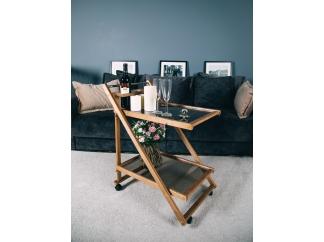 Сервировочный столик на колесиках Мебель Welcome ольха купить