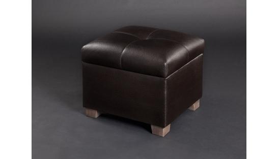 Банкетка Зара М темно-коричневая