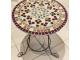 Стол украшенный мозаикой Каприз_3 d50 купить