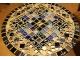 Кованый стол с мозаикой Эрика_22 d40 купить